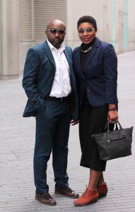 Emeka &Faustina Anyanwu CO-Founders of Divas of Colour.