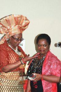 Princess betty Makoni and Princess Deun