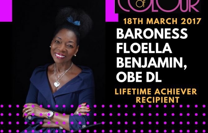 BARONESS FLOELLA BENJAMIN, OBE DL
