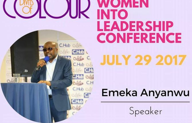 Women into Leadership speaker, Emeka Anyanwu, Publisher and motivational speaker.