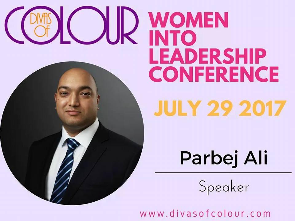 Women into Leadership speaker, Parbej Ali, Mentor