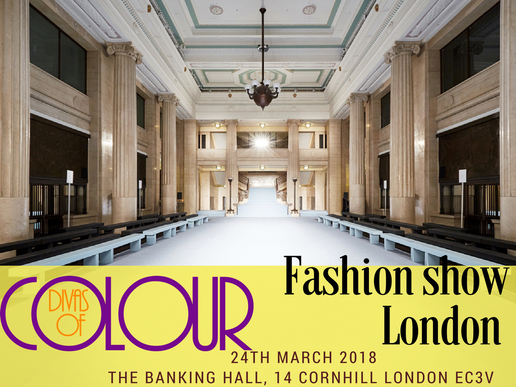 Divas of Colour fashion show at The banking hall