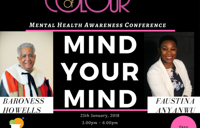 Mental Health Awareness Conference.