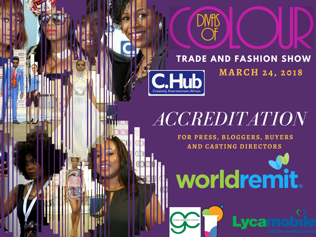 Divas of Colour Press and buers accreditation