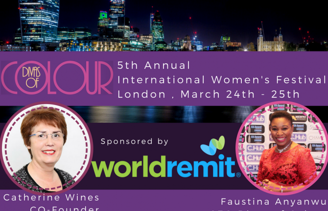 WorldRemit Sponors Divas of Colour 2018